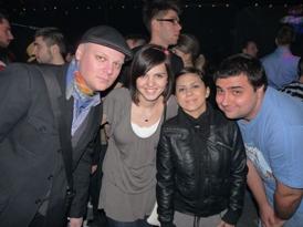 Marius, me, Emilia si Bursucu