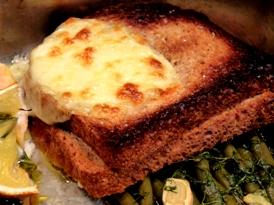 paine cu unt si mozzarella
