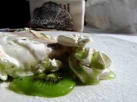 PARFAIT DE CASATA SICILIANA cu truffe si sos de kiwi