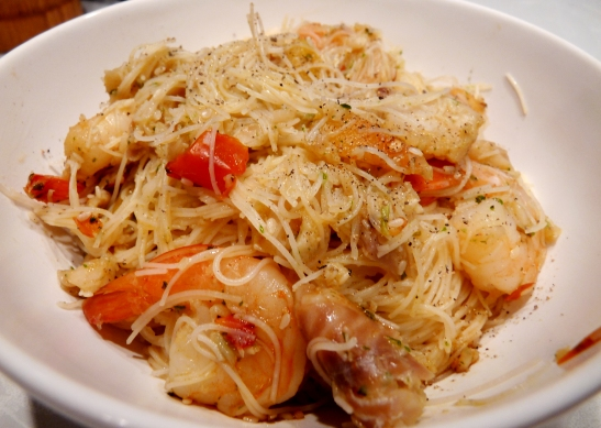 spicy fish and prawn noodles