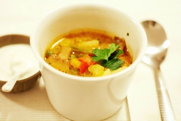 supa usoara de legume
