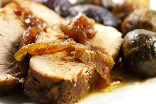 muschi de porc cu ceapa