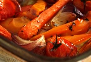 legume marinate, la cuptor