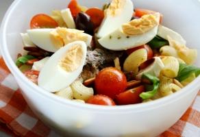salata rece cu paste